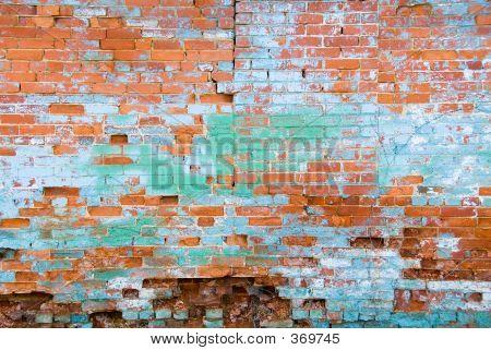 Distressed Brick Wall 1