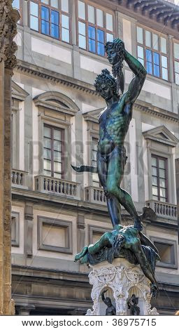 Florence Cellini Sculpture Of Perseus