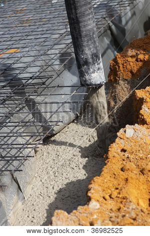Pouring Cement Foundations