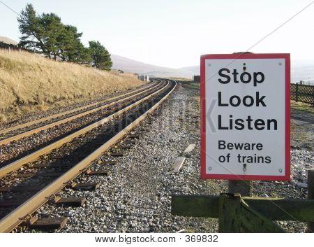 Beware Trains At Dent Station