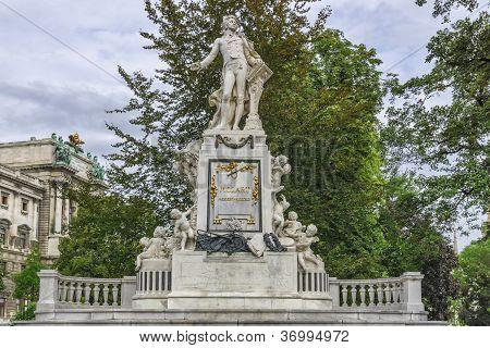 Vienna Mozart Monument