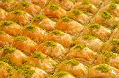 stock photo of baklava  - Turkish baklava - JPG