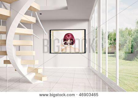 Modern Loft With Image