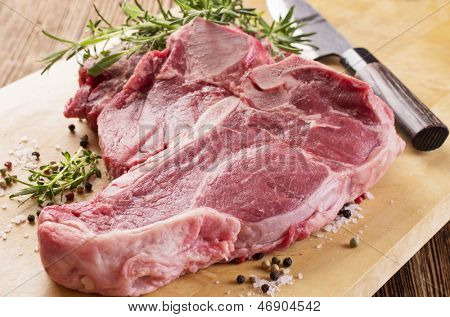 porterhouse steak raw