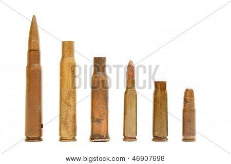 Different Size Bullet