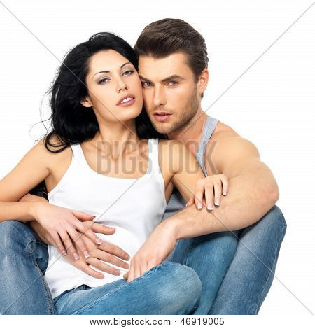 Beautiful Sexy Couple In Love