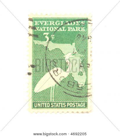 Everglade National Park Stamp