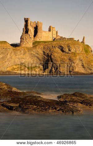 Tantallon Castle, East Lothian, North Berwick, Scotland