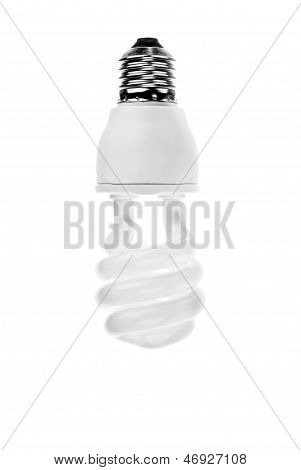 Modern Electric Bulb On A White Background