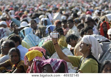 Marxist Rally in Kolkata.