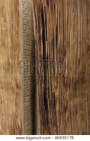 Old book pages, vintage background