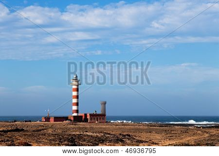 lighthouse on the oceanfront