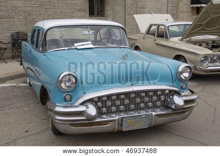 1955 Aqua Blue Buick Special Car