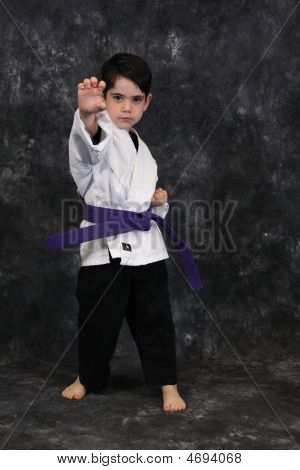 Karate Kid Palm Strike