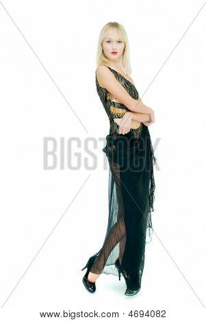In Gauzy Dress