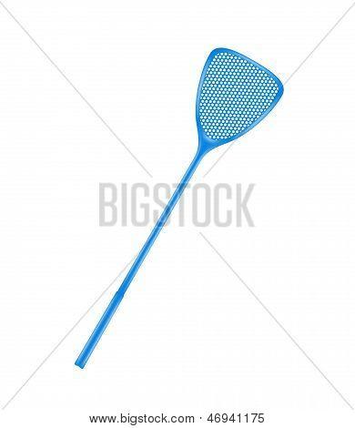 Blue flyswatter
