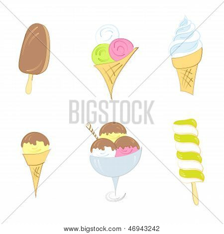 Ice cream set