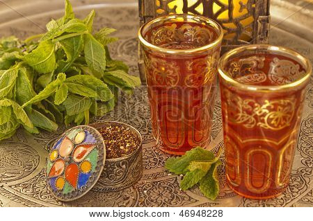 Mmoroccan Tea