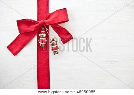Decorative Background with christmas ornaments