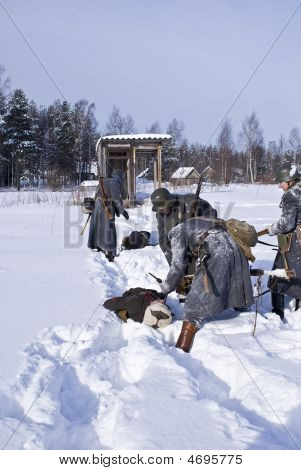 Soviet-finnish War 1939-1940: Marauders