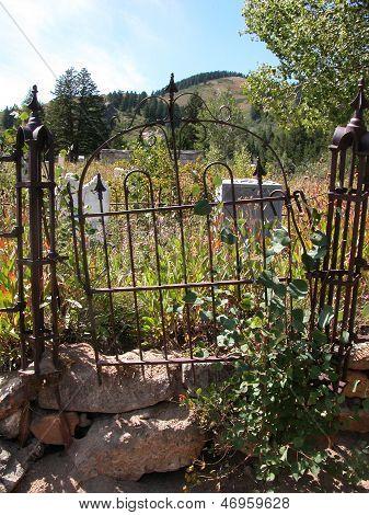 Gateway to Burial Plot
