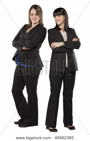 Young Women In Professional Attire