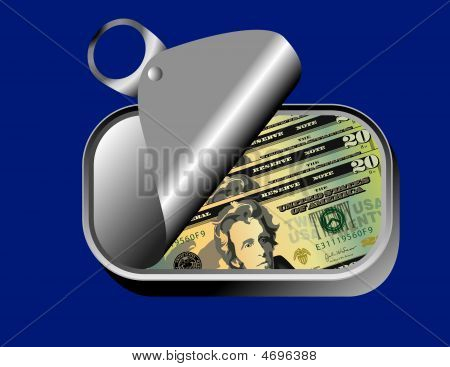 Sardine Can Of Dollars