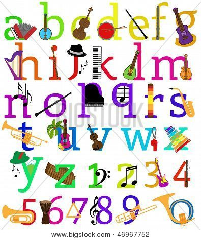 Music Alphabet - Other Matching Sets in Portfolio
