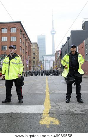 Protest in Toronto.