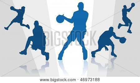 Basket players