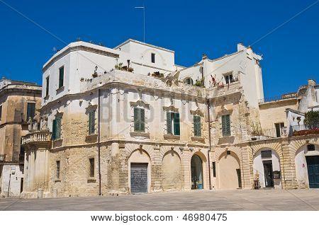 Duomo square. Lecce. Puglia. Italy.