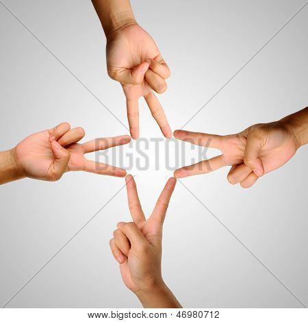 Victory Gesture