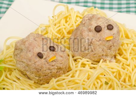 Pasta With Faces