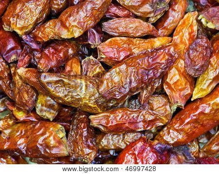 Red Small Hot Peppers
