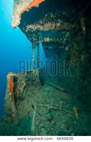 Starboard Gangway Of The Thistlegorm