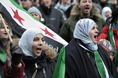 Syrian Protest in Toronto.
