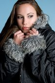 Cold Weather Girl poster