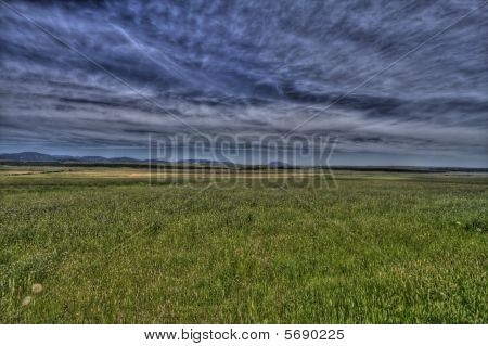 Wide open prairie