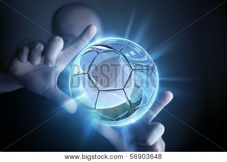 Glassy Ball Projection