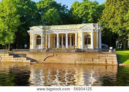 Mikhailovsky Garden. Petersburg.
