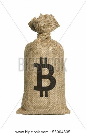 Bag With Bitcoin.