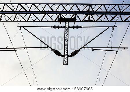 Electric Railways With Overhead Power Line