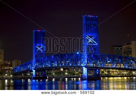 Jacksonville, Florida Blue Bridge