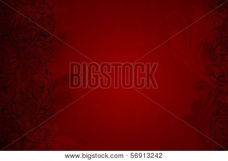 Red Passionate Background