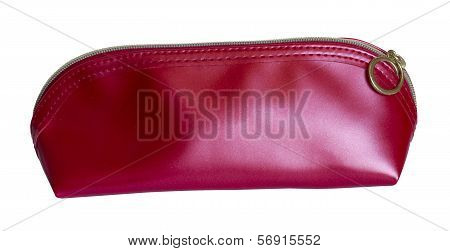 A Red Tight-filled Purse