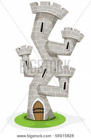Fantasy Castle Tower