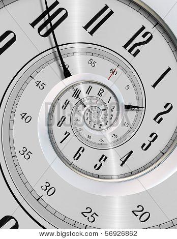 Spinning Clock