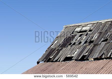 Weatherd Roof 1