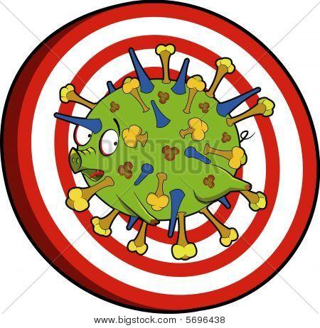 Flu virus target