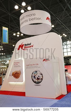 Nobel Biocare booth at the Greater NY Dental Meeting in New York